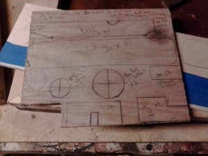 plywood plane template